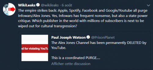 censure,internet,infowars,alexjones,réseaux,facebook,youtube